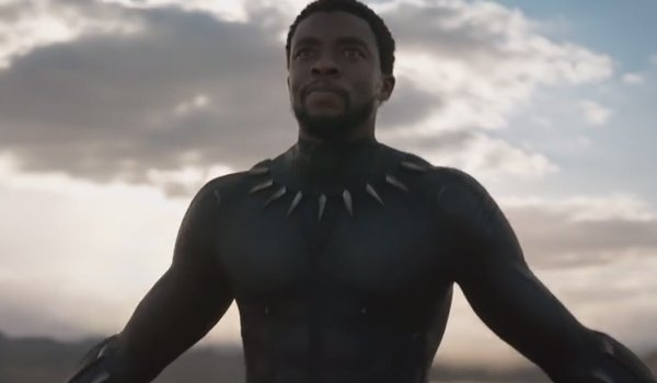 black panther arms out