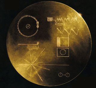 NASA's twin Voyager spacecraft launched in August and September 1977. Aboard each spacecraft is a golden record, a collection of sights, sounds and greetings from Earth. There are 117 images and greetings in 54 languages, with a variety of natural and hum
