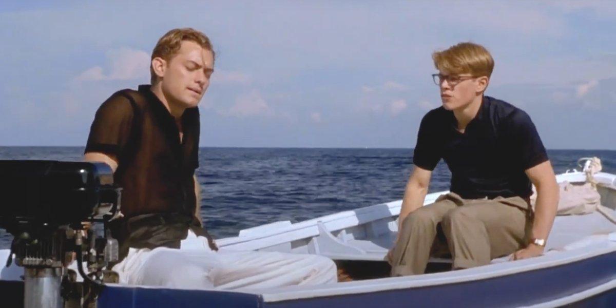 Jude Law and Matt Damon in The Talented Mr. Ripley