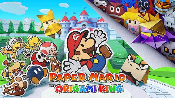 Det kommer ett nytt Paper Mario-spel till Nintendo Switch den 17 juli