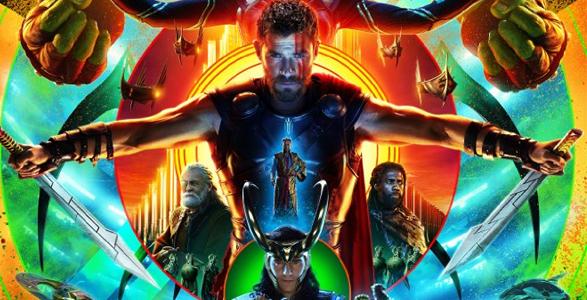 Thor Ragnarok San Diego Comic-Con 2017 poster
