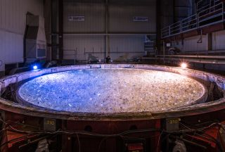 Nearly 20 Tons of Glass