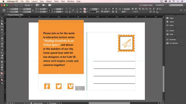 Wireframe tools: InDesign