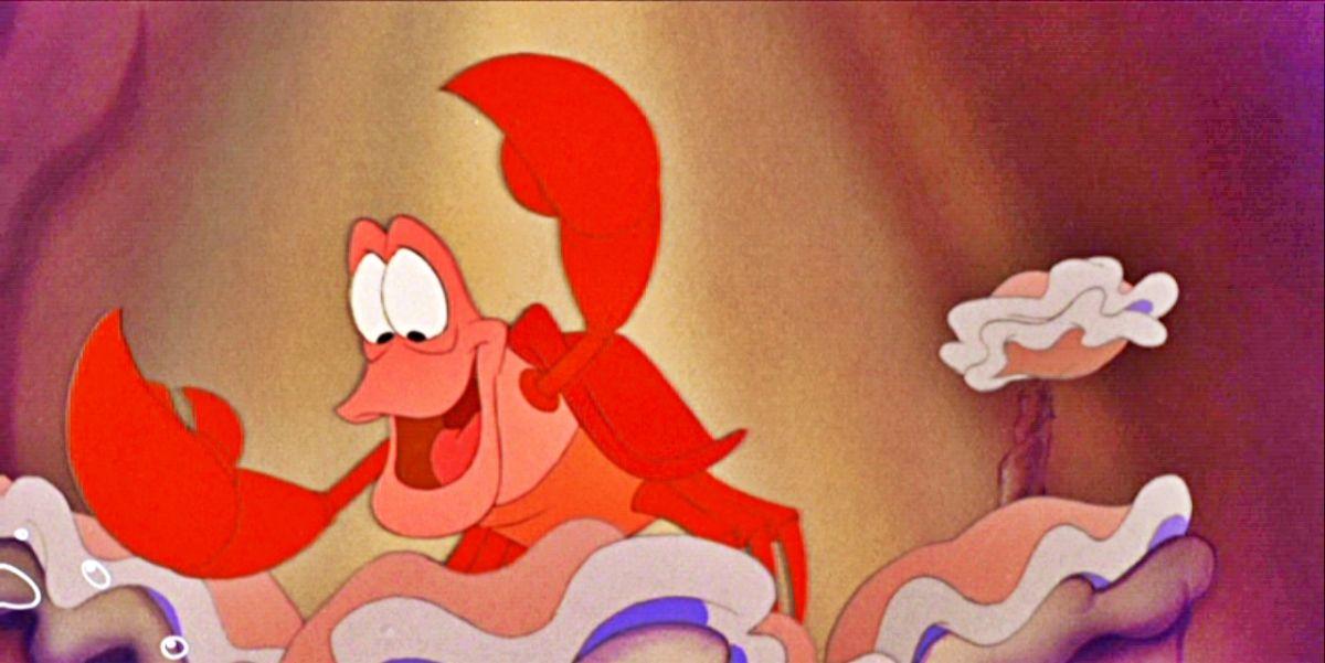 Sebastian in the little mermaid