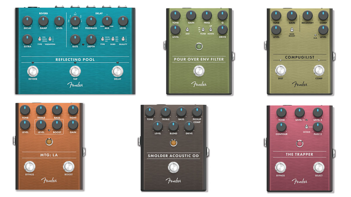 Summer NAMM 2019: Fender grows effects line with 6 wide-reaching new pedals | MusicRadar