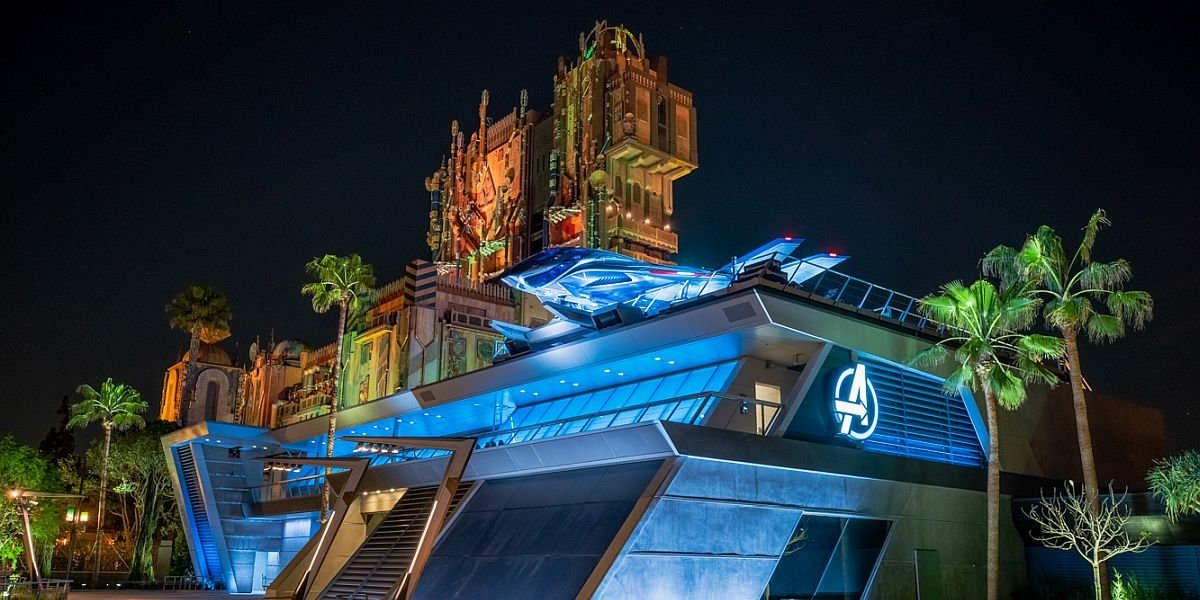 Avengers HQ at Avengers Campus, Disney California Adventure