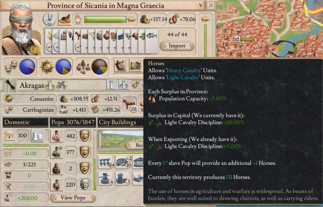 Imperator Rome exploit lets you create ancient megacities by stacking thousands of horses | PC Gamer