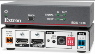 Extron Now Shipping EDID Emulator for HDMI