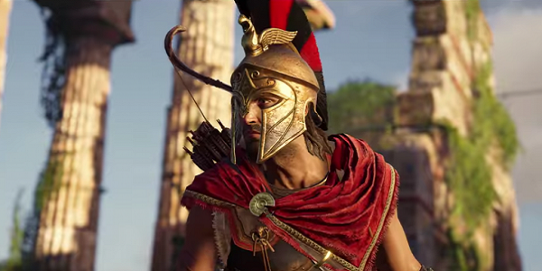 A Spartan in Assassin's Creed Odyssey.