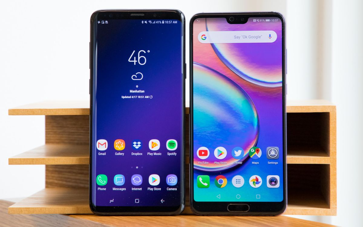 Huawei P20 Pro vs  Galaxy S9+: What's the Better Android