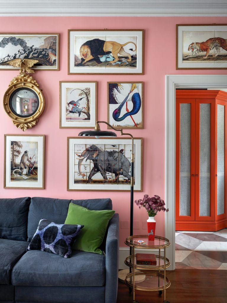 Beata Heuman pink wall