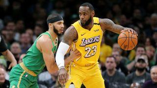 Lakers vs Celtics live stream
