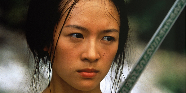 Crouching Tiger Hidden Dragon Zhang Ziyi Stern