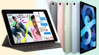 iPad 9 (2021) vs iPad Air 4 (2020)