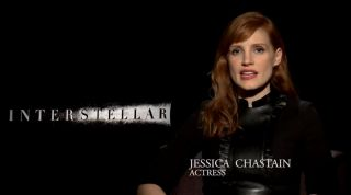 """Interstellar"" star Jessica Chastain hails NASA's space exploration efforts in a new video released by the space agency."