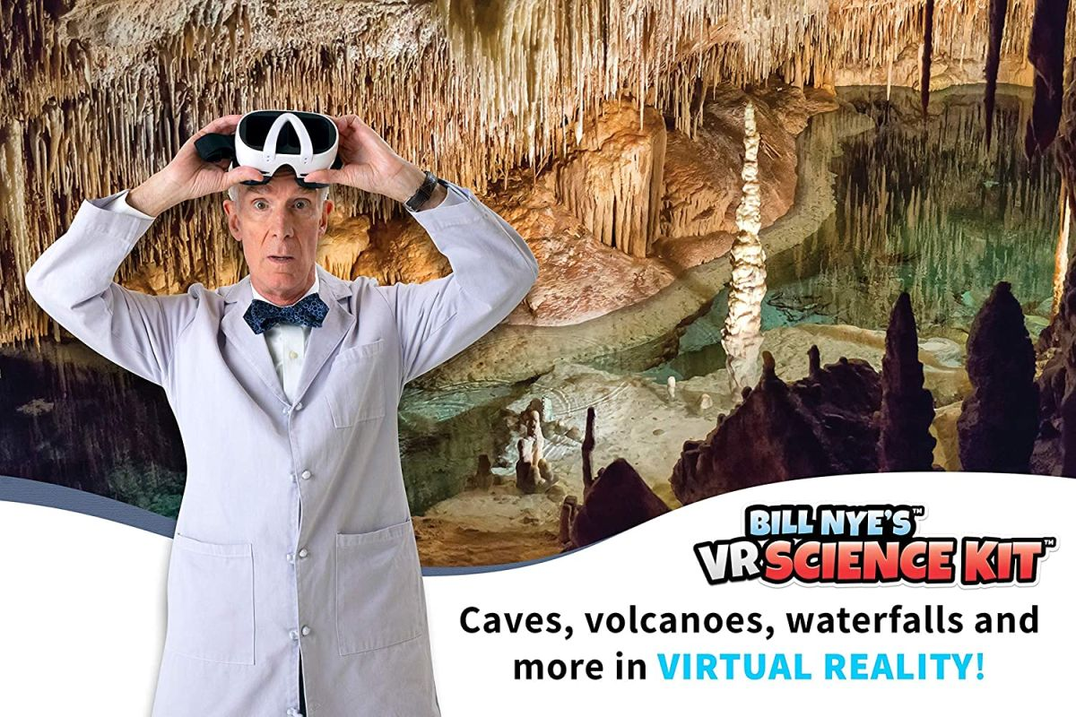Give the gift of Bill Nye with his virtual reality science kit - Livescience.com