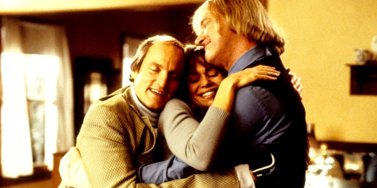 Woody Harrelson, Vanessa Angel, and Randy Quaid in Kingpin