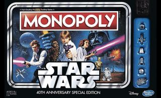 Star Wars monopoly game.