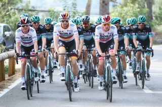 Peter Sagan and his Bora-Hansgrohe teammates prepared for the 2020 season in Mallorca
