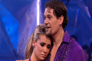 Dancing On Ice: Jessica finishes third!
