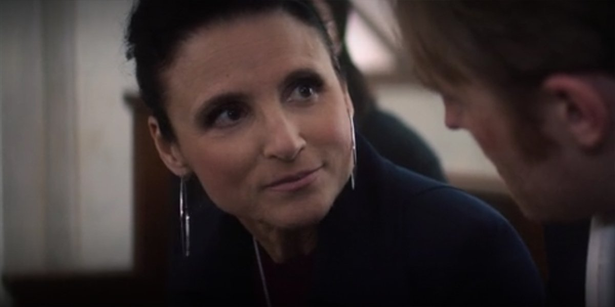 Julia Louis Dreyfus as Valentina Allegra de Fontaine in The Falcon And The Winter Soldier