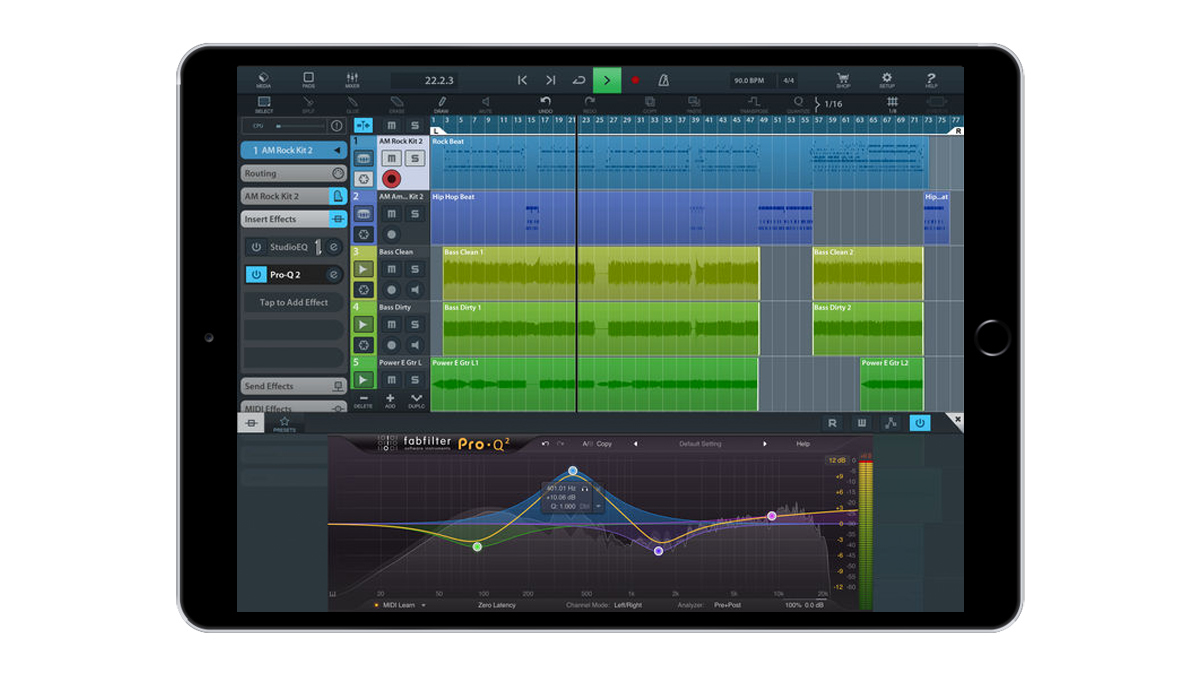 FabFilter releases all its Pro plugins for iPad in the AUv3 format | MusicRadar