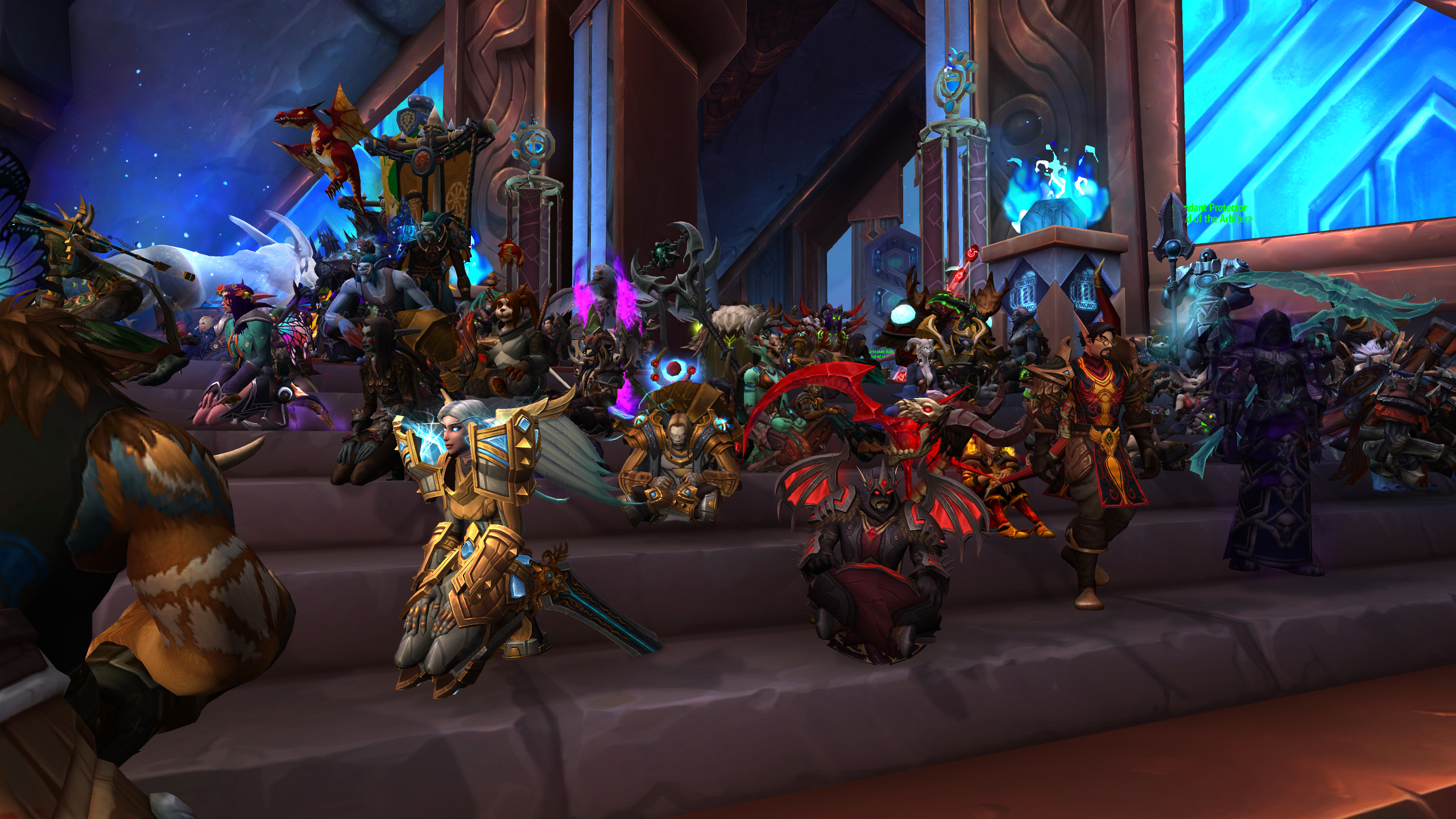 World of Warcraft protests