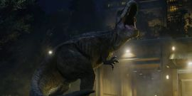 Watch A T-Rex Get Headbutted In New Jurassic World: Dominion Footage