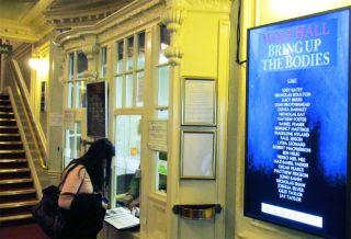 Tripleplay Digital Signage for Aldwych Theatre