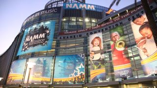 NAMM 2019 takes place at the Anaheim Convention Center.