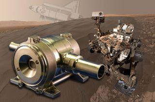 mars curiosity rover space shuttle regulator
