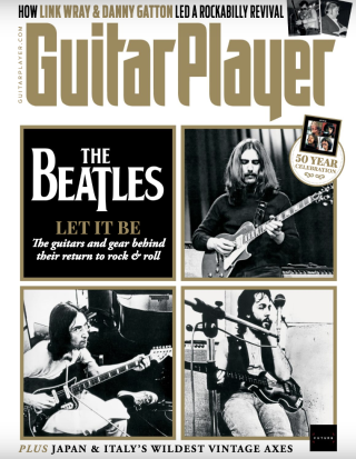 The cover of Guitar Player's September 2021 issue