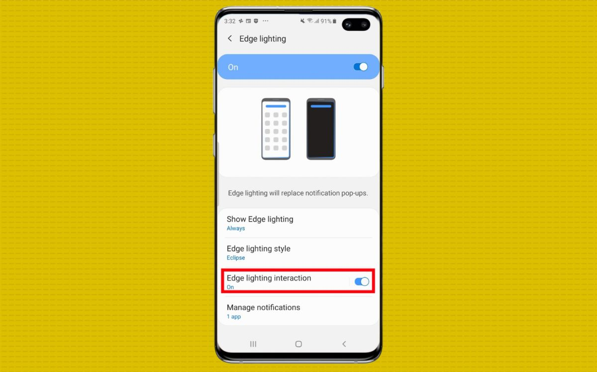 How to Create a Notification Light for Your Galaxy S10