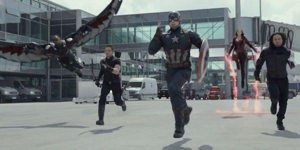 Marvel heroes in Captain America: Civil War