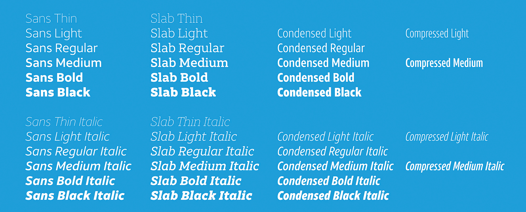 Brand typography: AT&T's extensive brand font