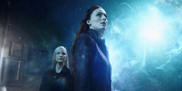 Sophie Turner and Jessica Chastain in Dark Phoenix