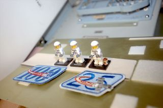 LEGO minifigures of Expedition 42 Crew Members