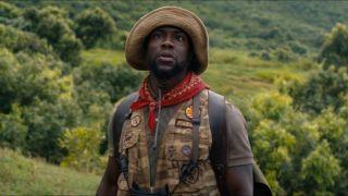 Kevin Hart as Fridge in Jumanji: Welcome to the Jungle.