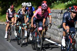Egan Bernal (Ineos Grenadiers) heads into the final two mountain stages with a two-minute lead on his nearest rival