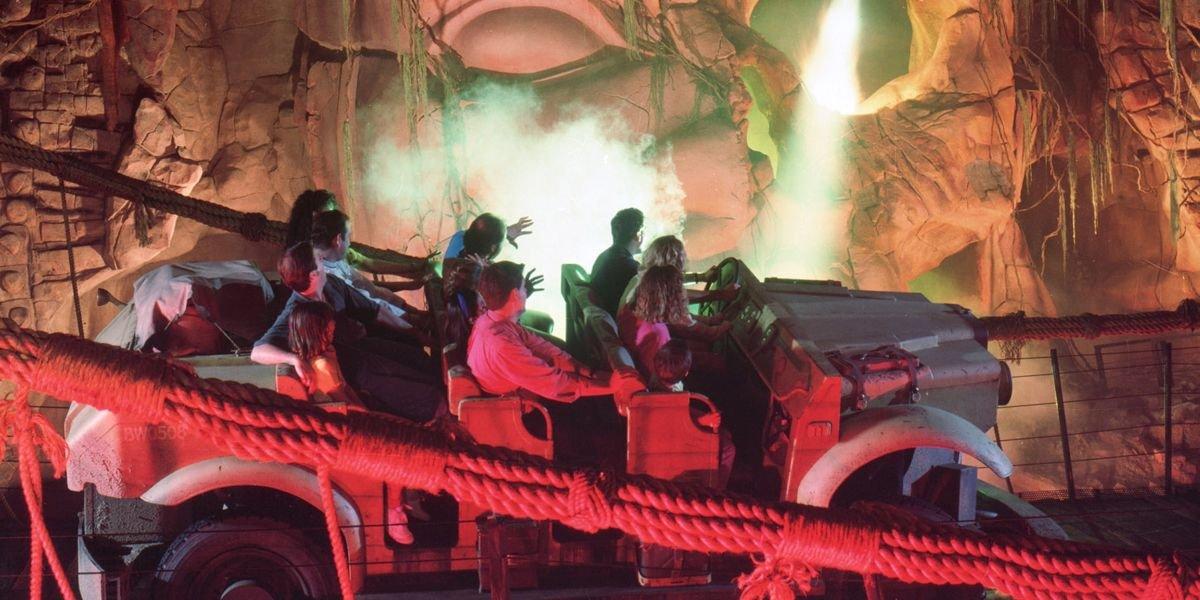 Indiana Jones Adventure at Disneyland