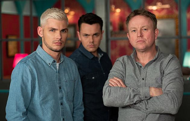 Stuart, Jonny and Ste