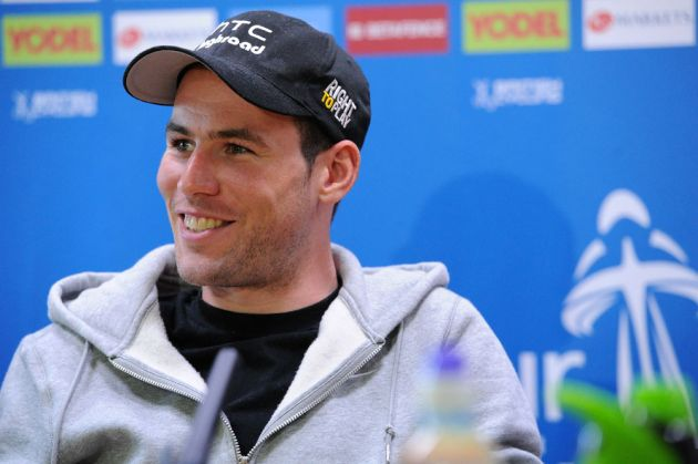 Mark Cavendish in press conference, Tour of Britain 2011, press conference/warm-up