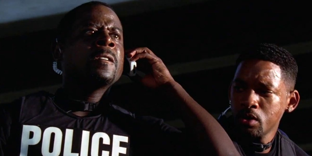Martin Lawrence and Will Smith in Bad Boys II