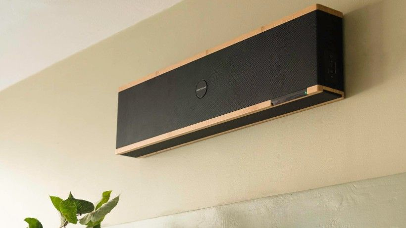 This wireless speaker doubles up as a soundbar – and it looks stunning