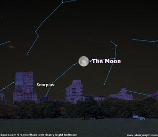 Moon to Block a Star May 24