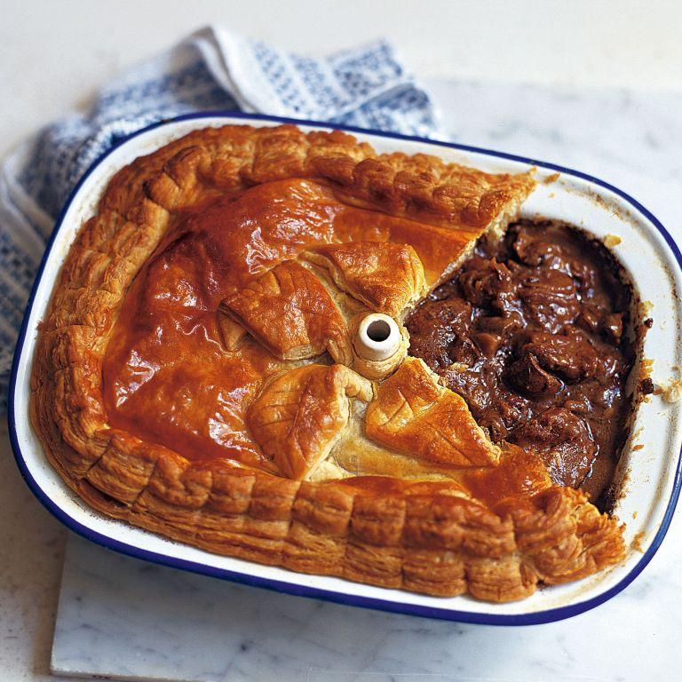 Steak, Kidney, Ale and Mushroom Pie recipe-steak recipes-recipe ideas-new recipes-woman and home