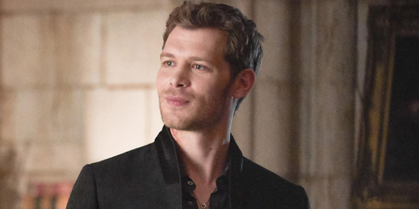 The Originals Joseph Morgan smiles as Klaus Mikaelson The CW