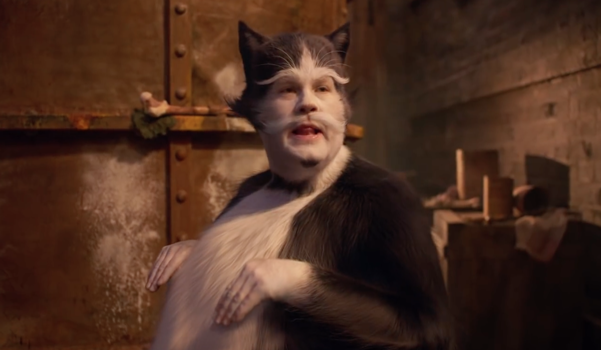 James Corden as Bustopher Jones in Cats