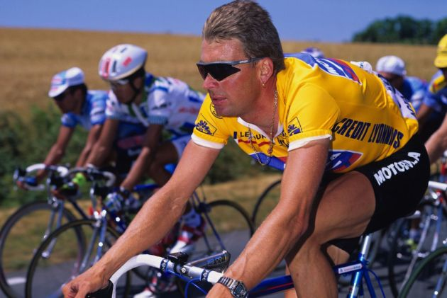 Moment in time  Sean Yates s day in yellow at the Tour de France ... 1deda8ff9