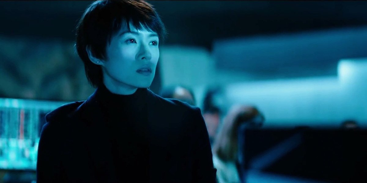 Zhang Ziyi as Dr. Ilene Chen in Godzilla: King of the Monsters